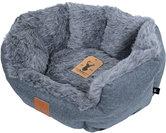 Boony est1941 badger grey honden- en kattenmand 50cm