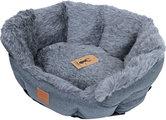 boony est1941 badger grey honden- en kattenmand 60cm
