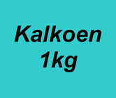Carnibest Kalkoen 1kg